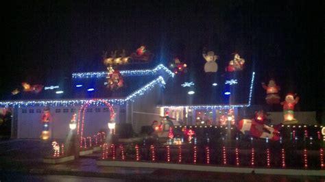 mission viejo homes christmas lights