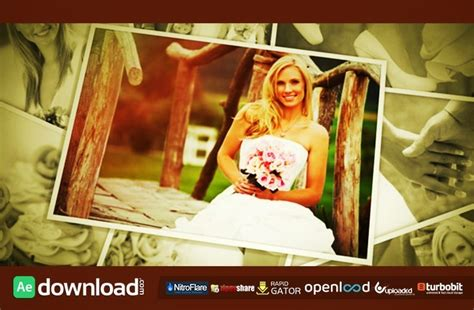 wedding photos 6993270 free after effects project