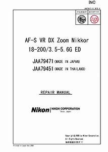 Nikon Coolpix 5000 Repair Manual Service Manual Download