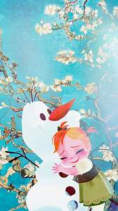 Frozen Phone Wallpaper - Olaf and Sven Photo (39405871 ...