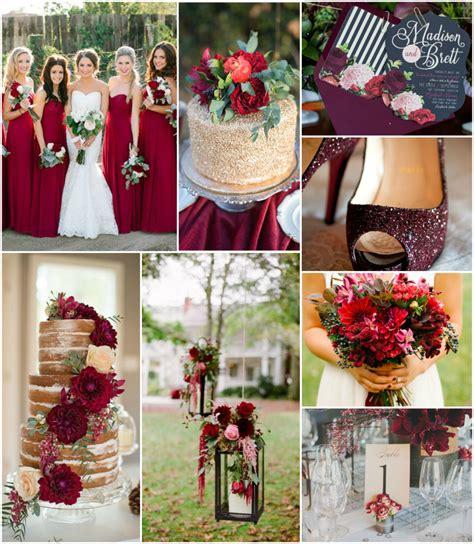 wedding pinspiration: colors Maroon wedding Fall