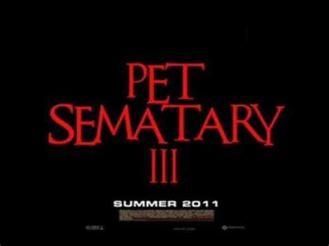 Pet Sematary 3 Teaser (2010 Trailer) Youtube