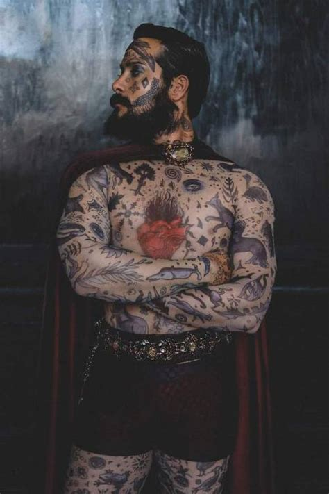 constantine  tattooed man tumblr