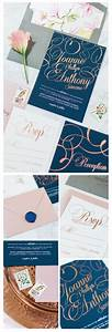 the 25 best rose gold foil ideas on pinterest gold foil With wedding invitation printing new jersey