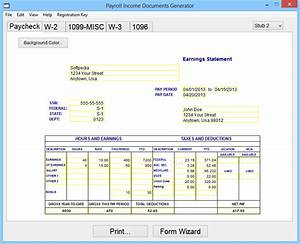 download payroll income documents generator 4100 incl With document generator download