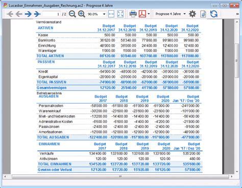 finanzplanung banana accounting software