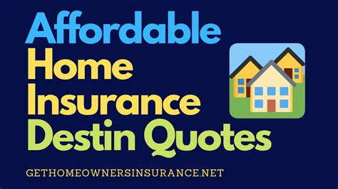 Your policy is the best place to review your coverages, but a few common items covered by homeowners. Affordable Home Insurance Destin Quotes in 2020   Home insurance quotes, Home insurance ...