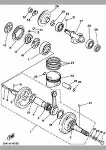 2002 Yamaha Warrior 350 Parts Diagram