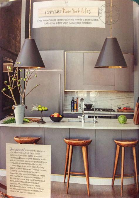 york loft style kitchen home kitchen design