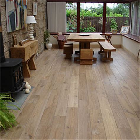 kitchens with wood floors handsawn rustic oak 6658
