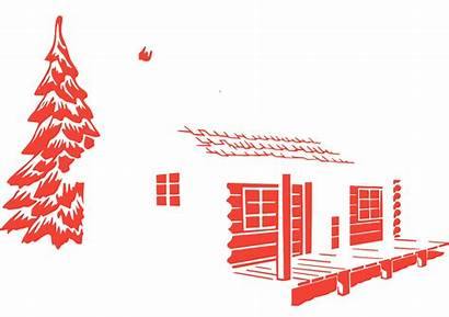 Svg Cabin Log Rustic Country Structure Architecture