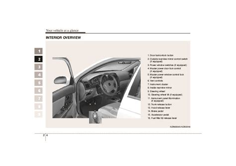 download car manuals pdf free 2004 kia spectra lane departure warning 2006 kia spectra owners manual