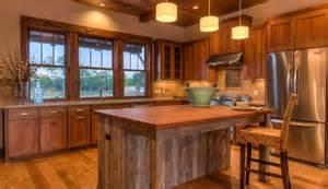 butcher block portable kitchen island cocinas rusticas elegancia de madera www brico