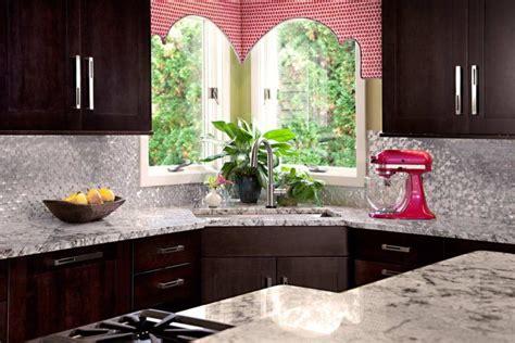 gorgeous kitchen designs  corner sinks