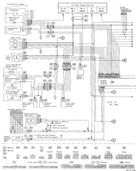 Outback Wiring Diagram by Electrical Wiring Diagrams 2003 Subara Outback Ll Bean
