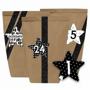 Washi Tape Schwarz : diy adventskalender 24 papiert ten mit aufklebern sternen form schwarz papierdrachen ~ Eleganceandgraceweddings.com Haus und Dekorationen