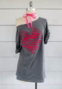 diy shirt designs 30 awesome t shirt diys makeovers you should try right now