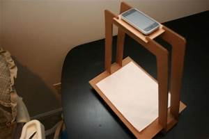 diy iphone document scanner With document scanning stand