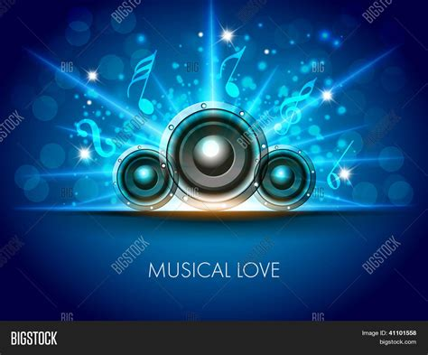 Car Wallpapers Free Psd Flyer Stock by Abstract Musical Flyer Speakers On Vector Photo Bigstock