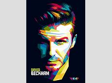 David Beckham in WPAP by RioArfaza on DeviantArt
