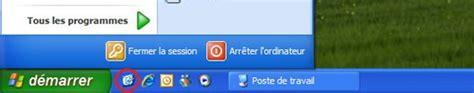 bureau windows xp retrouver le bouton quot afficher le bureau quot des anciennes