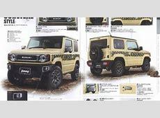 Suzuki Jimny & Jimny Sierra accessories brochures reveal
