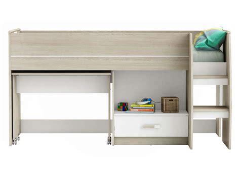 lit combiné bureau conforama lit combiné 90x190 cm switch vente de lit enfant conforama