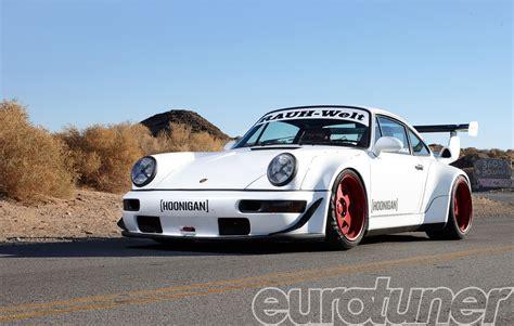 rauh welt porsche 911 hoonigan inc rauh welt begriff 1991 porsche 911 turbo