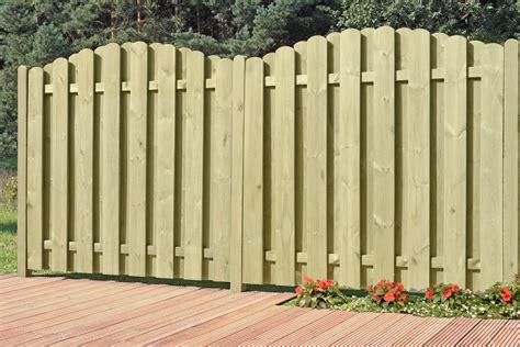 Sichtschutz Garten Holz 90 X 180 by Sichtschutzzaun Bohlenzaun Element Bogen Holz Kdi 90x180