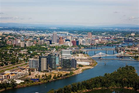 Aerial Photography In Portland & Vancouver Commercial