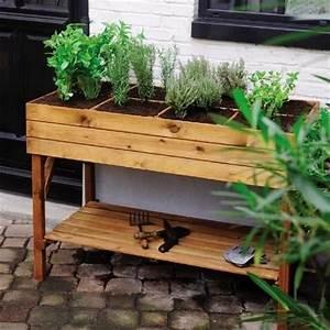 Mini Potager En Bois : les 25 meilleures id es concernant potager sur lev sur ~ Premium-room.com Idées de Décoration