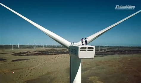 Китай активно развивает ветроэнергетику