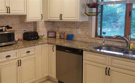 light colored granite kitchen countertops countertops and kitchen cabinets in boston and marshfield 8990