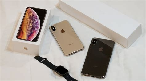 unboxing iphone xs iphone xs max apple
