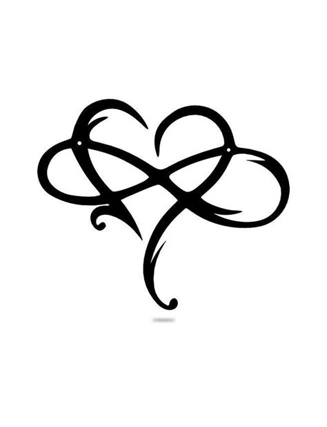 Infinite Love Heart | Stuff to buy | Infinity tattoos, Infinite love tattoo, Love symbol tattoos