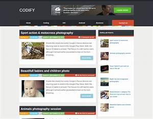 Codify Blogger Template
