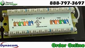 Cat6 12 Port Wall Mount Rj45 Network Ethernet Patch Panel