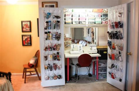 Inside Closet Storage by 25 Best Ideas About Sewing Closet On Sewing