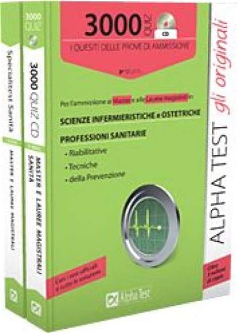 scienze infermieristiche test d ingresso master e lauree magistrali scienze infermieristiche e