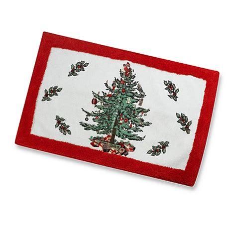 spode 174 christmas tree rug bed bath beyond