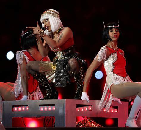 Nicki Minaj Photos Photos Bridgestone Super Bowl Xlvi