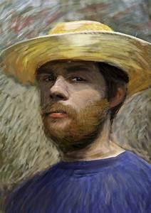 Chapeau De Paille Homme : verticale de jeune homme avec le chapeau de paille ~ Nature-et-papiers.com Idées de Décoration