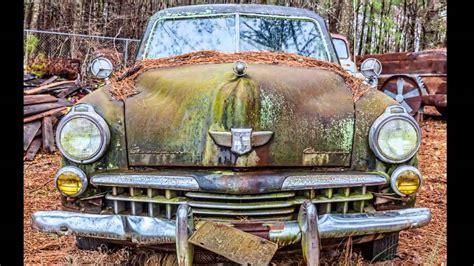 Vintage Georgia Engagement Session At Old Car City