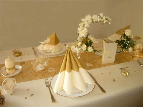 noces d or decoration de tables id 233 es de d 233 coration et de mobilier pour la conception de la maison