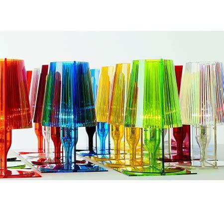 tavolo trasparente kartell kartell lada da tavolo take ta 40w e14 trasparente