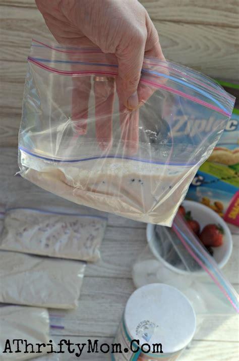 ice cream   bag easy recipe  kids