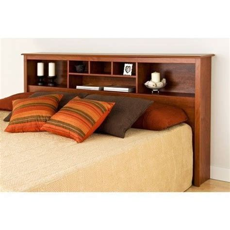 king bed with bookcase headboard headboard full queen or king size storage bed wood