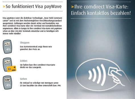 comdirect visa kreditkarte erfahrungen test note