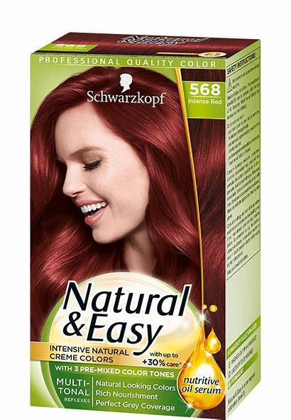 Intense Easy Natural Schwarzkopf Reds International