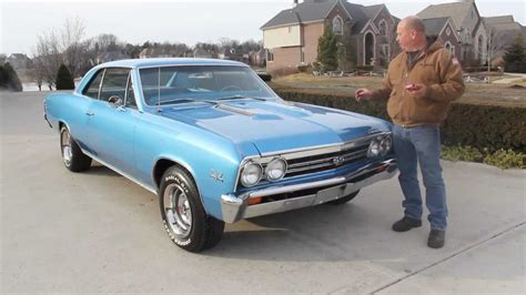 1967 Chevelle Weight by 1967 Chevrolet Chevelle Ss Classic Car For Sale In